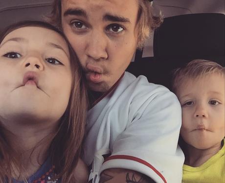 Justin Bieber and Siblings