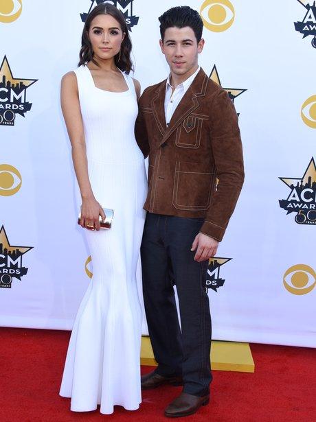 Nick Jonas & Olivia Culpo