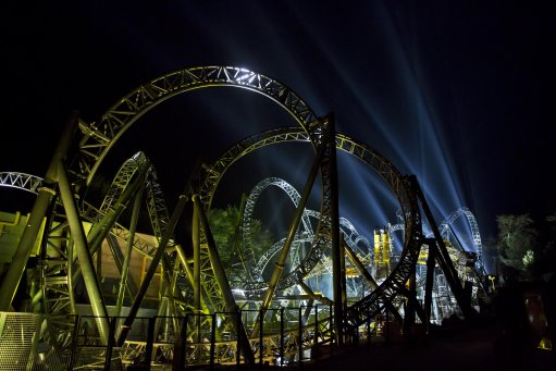 Alton Towers Smiler rollercoaster