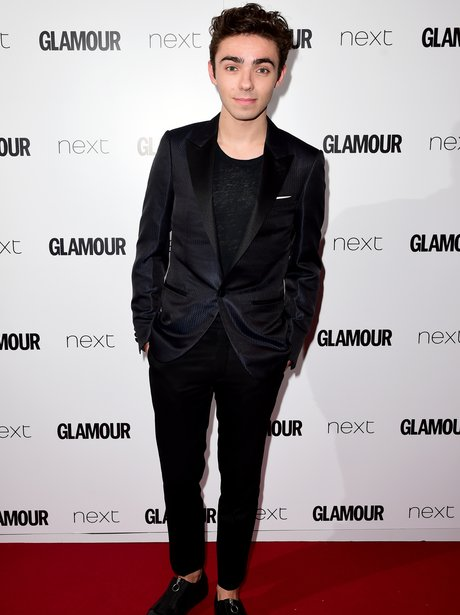 Nathan Sykes Glamour Awards 2015