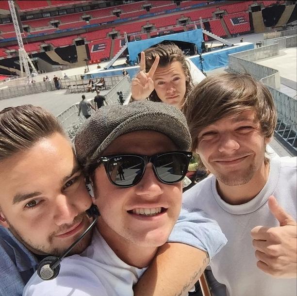 One Direction Sound Check Summertime Ball