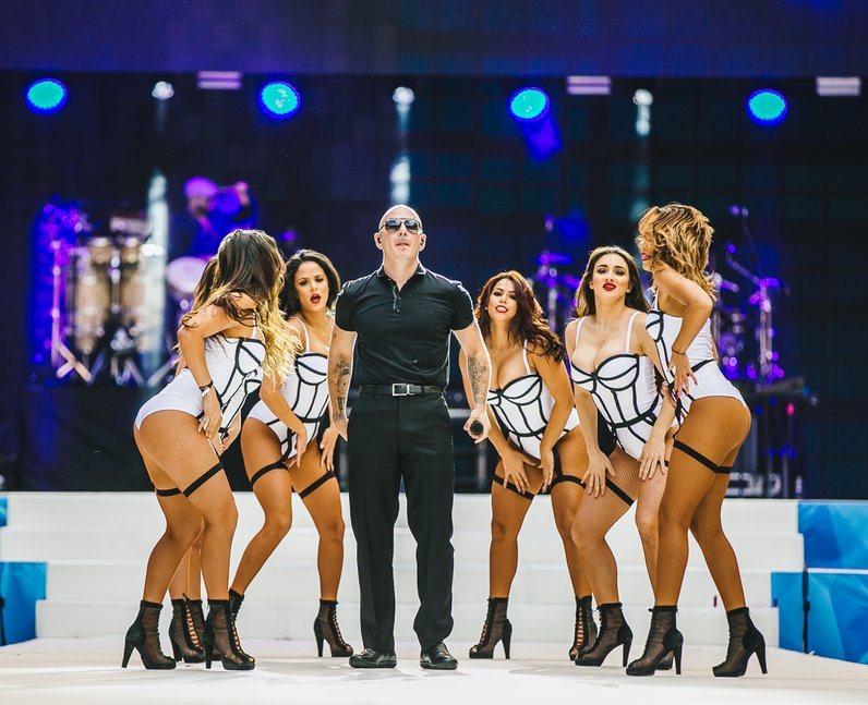 Pitbull Live Summertime Ball 2015