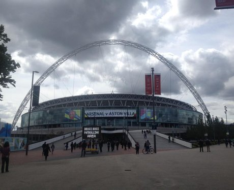 Wembley before the FA Cup final