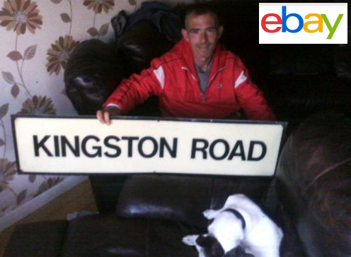 Kingston road sign ebay