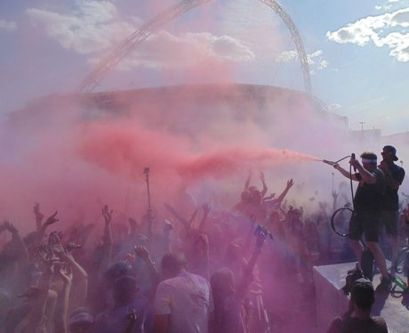 The Color Run at Wembley Park