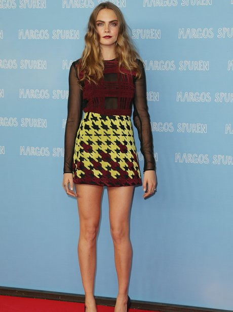Cara Delevingne 'Paper Towns' Press Conference