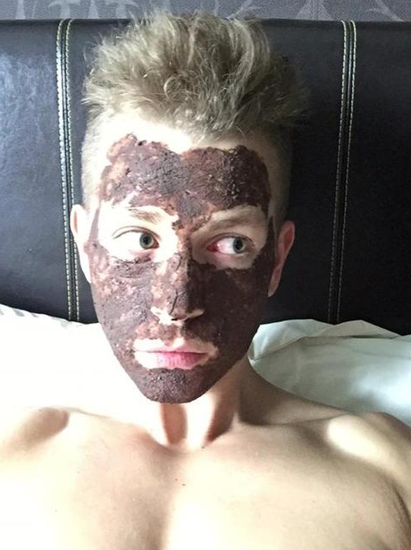 The Vamps James McVey Face Mask Instagram