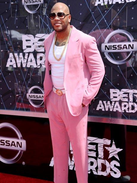Flo Rida BET Awards 2015 Red Carpet