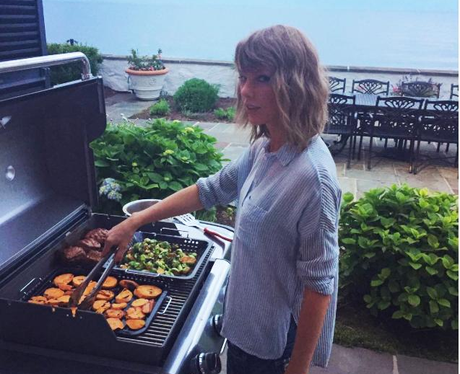 Taylor Swift BBQ Cooking