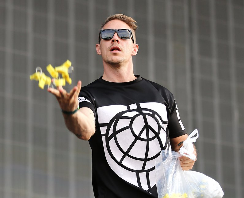 Diplo at New Look Wireless Festival 2