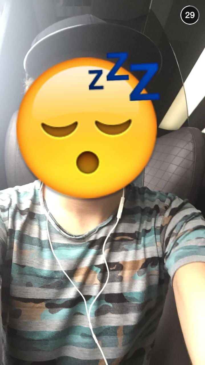 Nathan Sykes Snapchat
