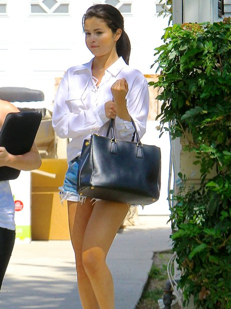 Selena Gomez out an about in LA