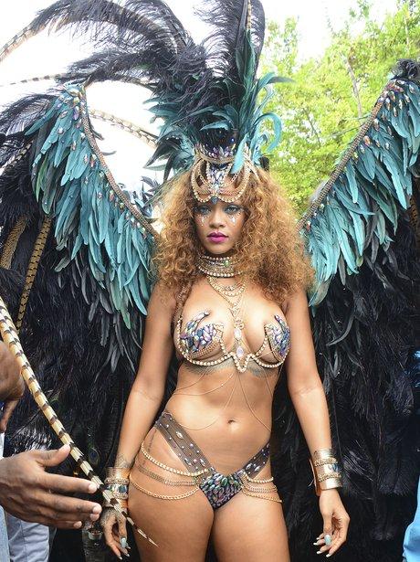 Rihanna Carnival Barbados 2015