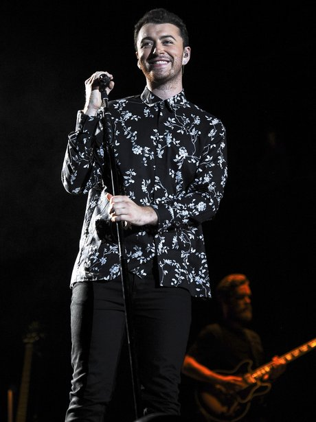 Sam Smith performs at Lollapalooza