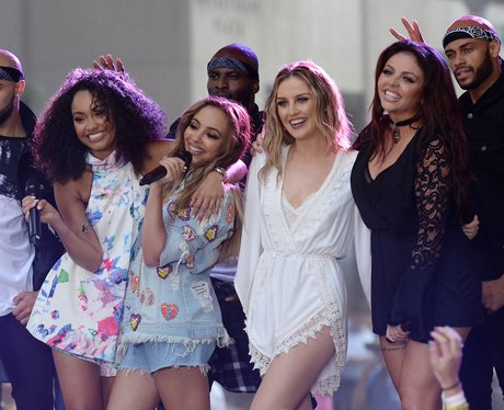 Little Mix perform on the Today Show