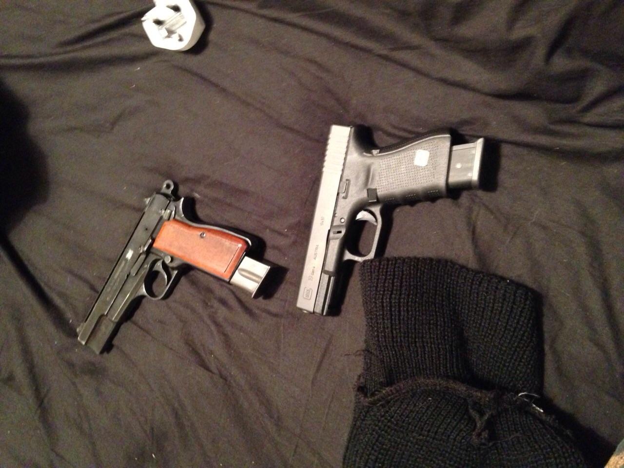 Dominic Birch - Guns