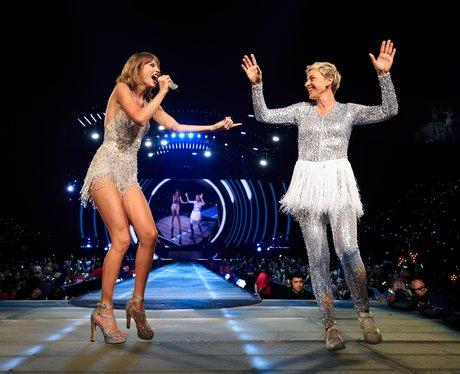 Taylor Swift and Ellen DeGeneres 1989 Tour