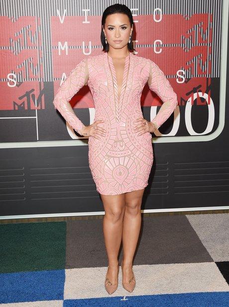 Demi Lovato - MTV VMAs 2015 red carpet arrivals