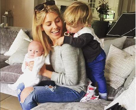 Mollie King With Frankie's Children