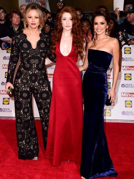 Kimberley Walsh, Nicola Roberts and Cheryl