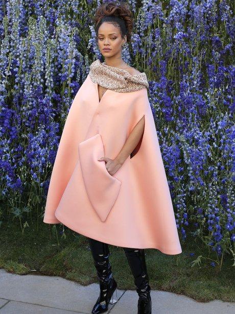 Rihanna Paris Fashion Week 2016