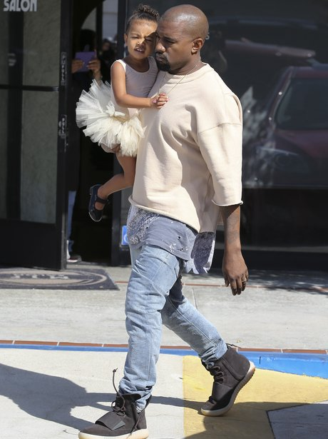 Kanye West and North Ballerina Outfit