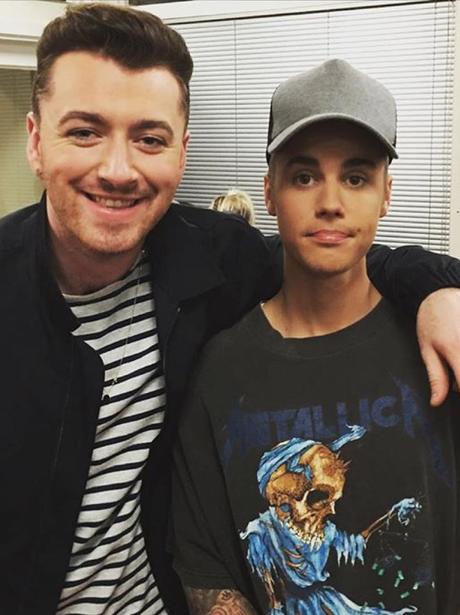 Justin Bieber and Sam Smith