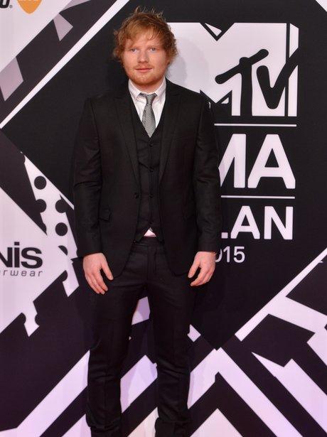Ed Sheeran MTV EMA's 2015 Red Carpet