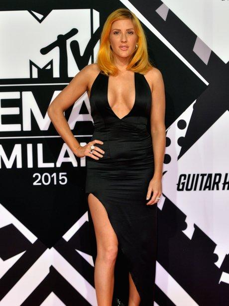 Ellie Goulding MTV EMA's 2015 Red Carpet