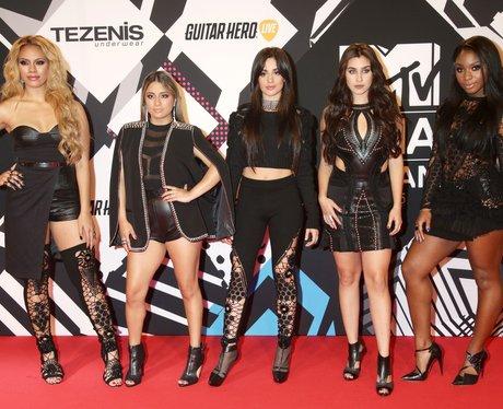 Fifth Harmony MTV EMA's 2015 Red Carpet Performanc