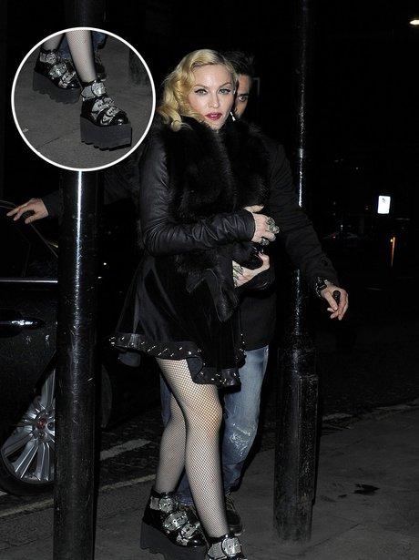 Madonna Platform Shoes