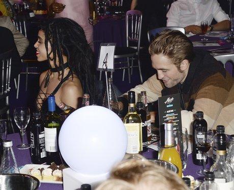FKA Twigs and Robert Pattinson MOBO Awards 2015