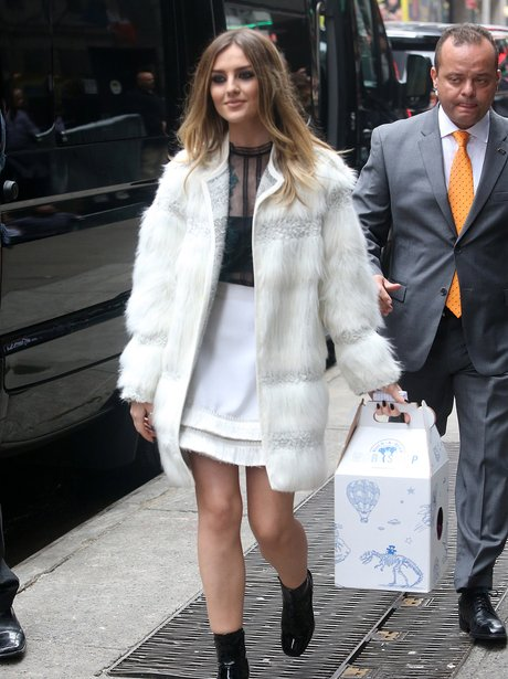 Perrie Edwards Good Morning America