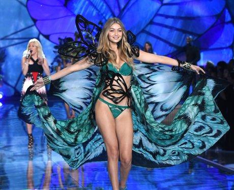 Gigi Hadid Victoria's Secret Fashion Show 2015