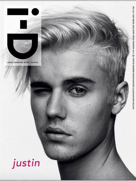 Justin Bieber i-D Magazine 2015