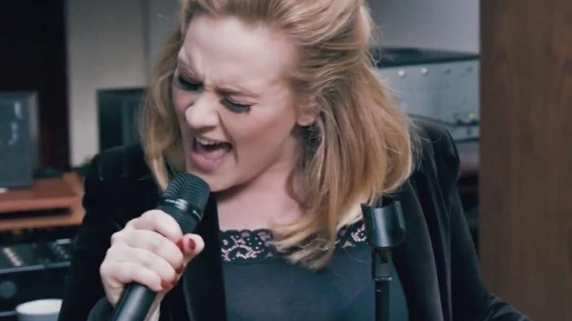 WATCH: Adele Teases Her New Song When We Were Young'