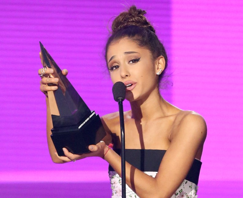 Ariana Grande American Music Awards 2015