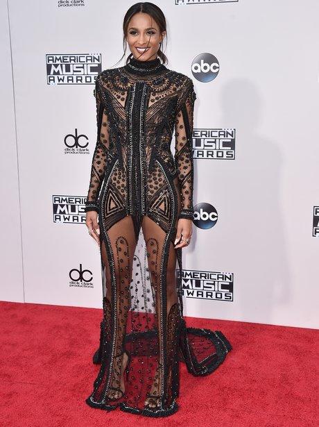 Ciara American Music Awards 2015