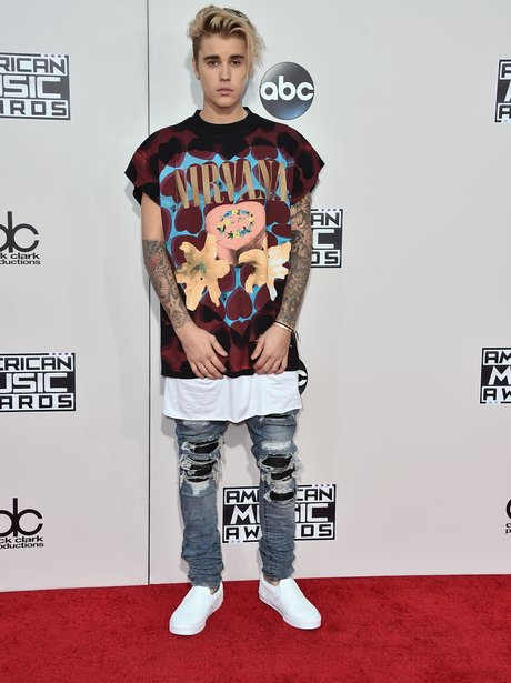 Justin Bieber American Music Awards 2015