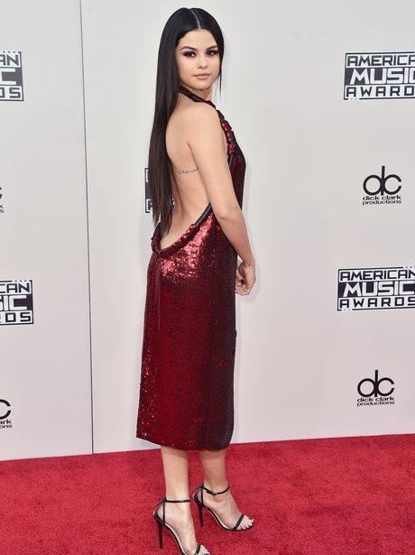 Selena Gomez American Music Awards 2015