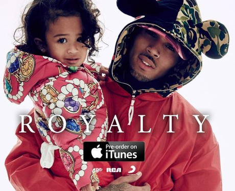 Chris Brown Royalty Cover