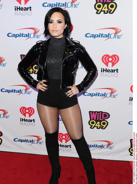 Demi Lovato iHeart Radio Jingle Ball Oakland
