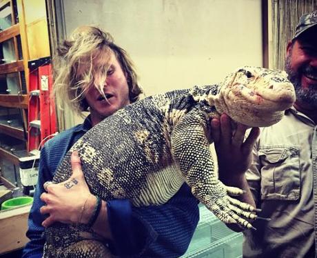 Dougie Poynter Lizard Instagram