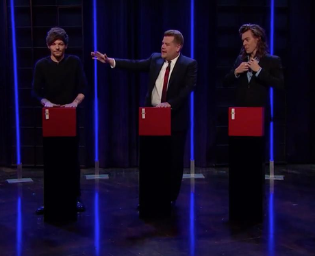 James Corden One Direction Late Late Show