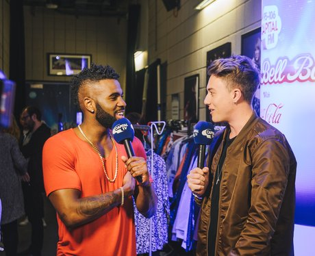 Jason Derulo Backstage Jingle Bell Ball 2015