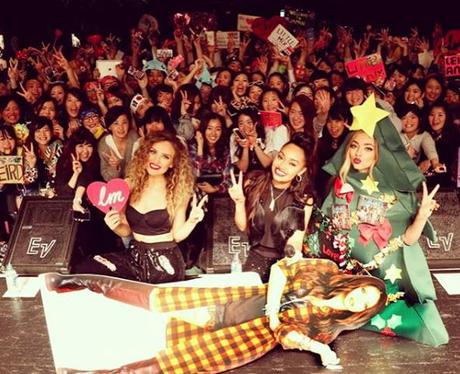 Little Mix Christmas Tree Instagram