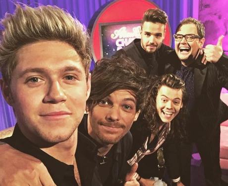 One Direction On Alan Carr's Chatty Man Instagram