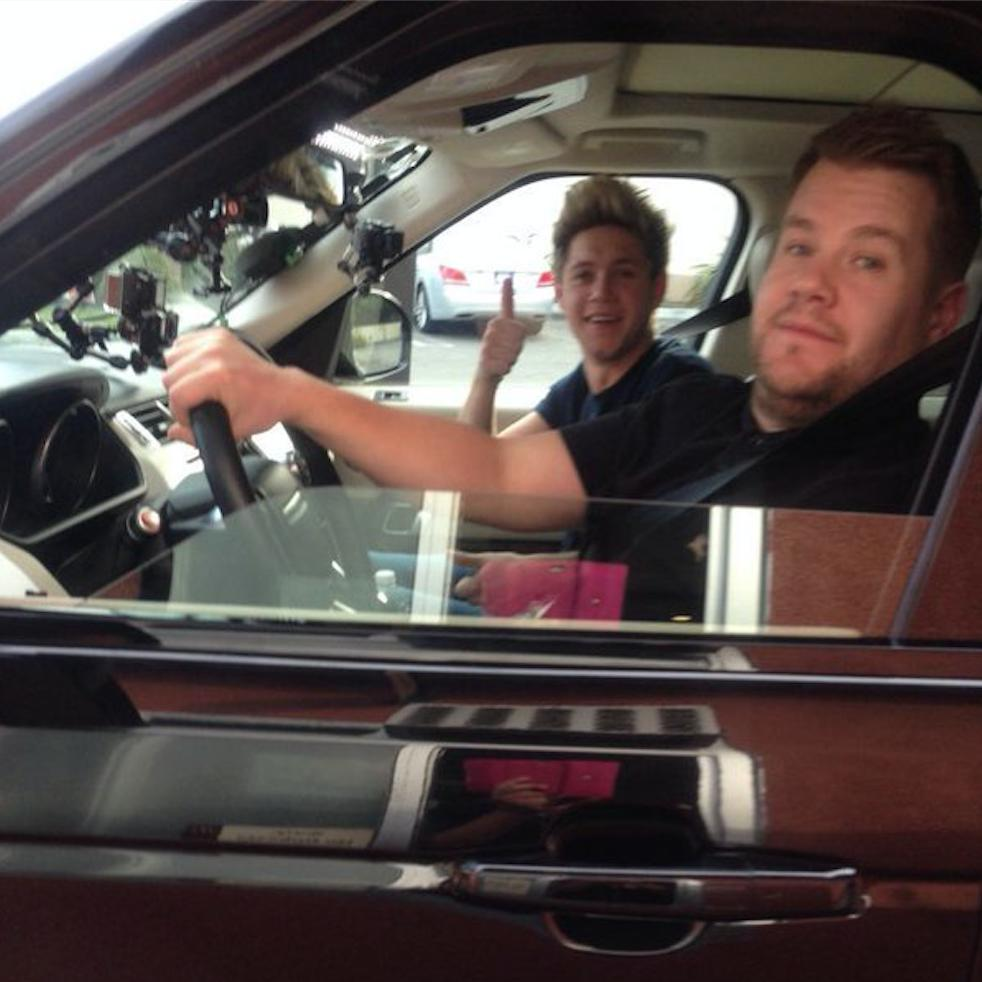 One Direction's Carpool Karaoke niall james corden