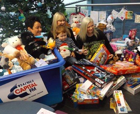 Capital Presents Christmas Treats by St David's