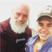 Image 1: Justin Bieber with Santa Twitter
